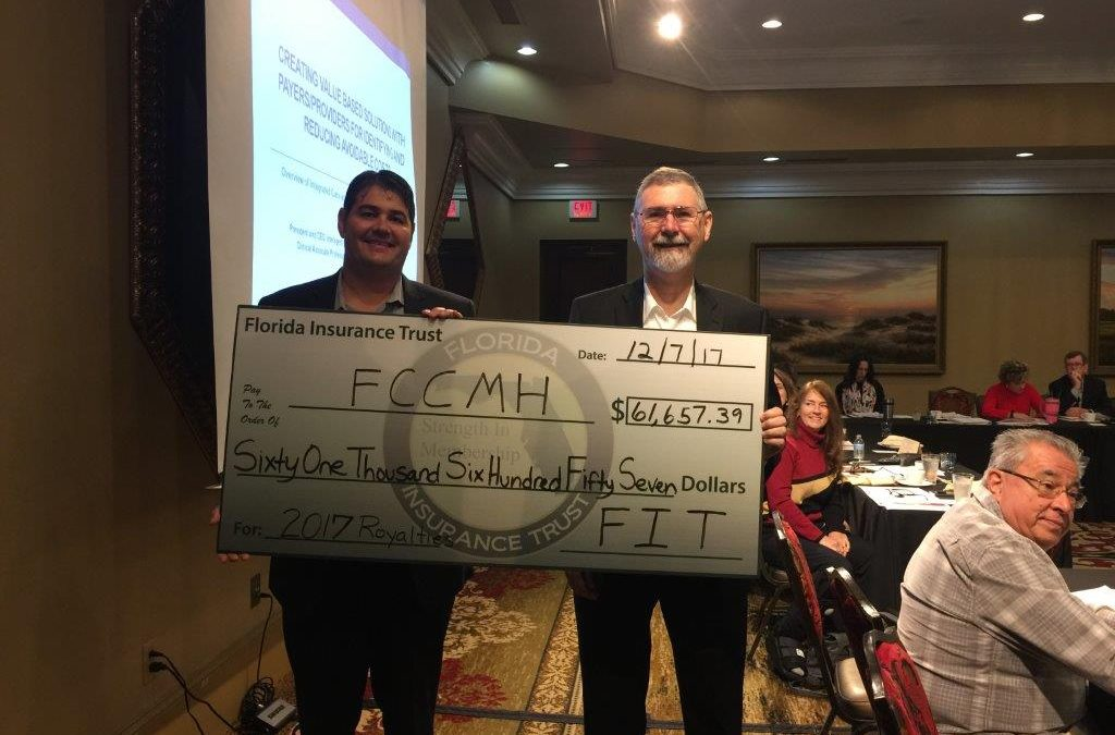 FCCMH – THE FLORIDA COUNCIL FOR COMMUNITY MENTAL HEALTH